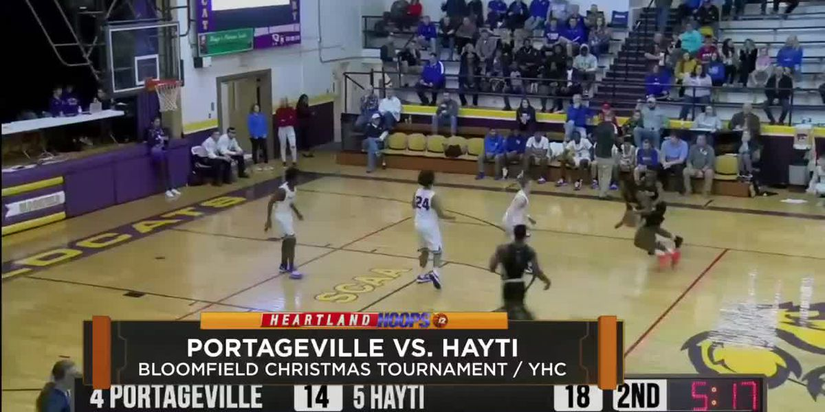 Hayti vs Portageville at Bloomfield 2019
