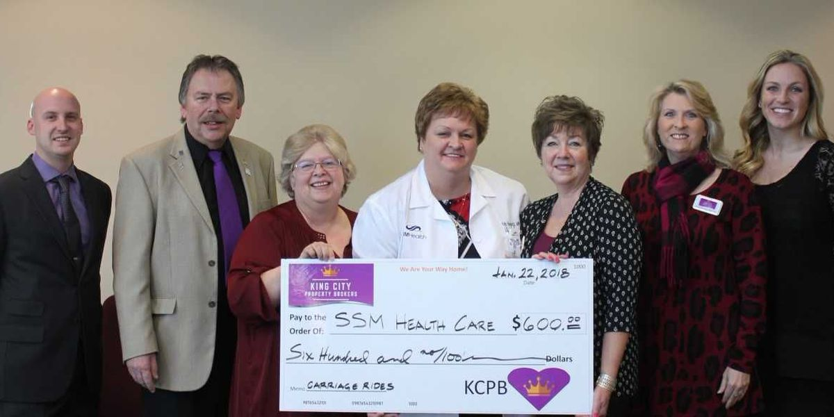 SSM Health Good Samaritan Hospital Receives Donation