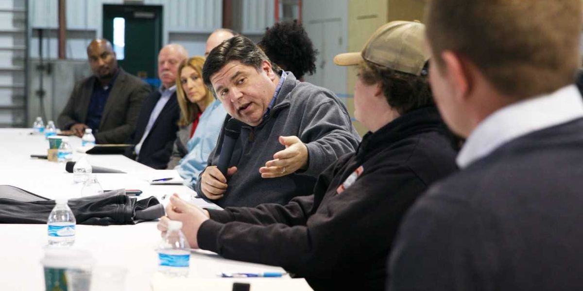 Governor-Elect Pritzker visiting southern Illinois on statewide tour