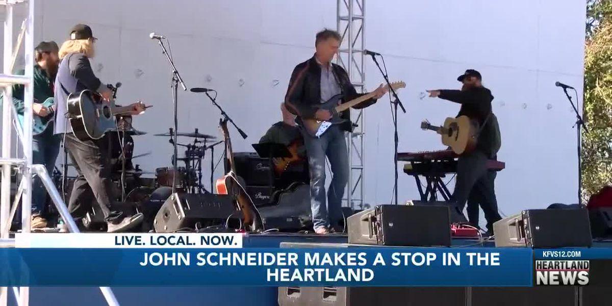 'Dukes of Hazard' star John Schneider performs at Rock 'N' Roll Drive-In