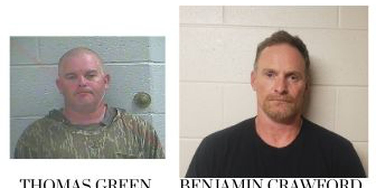 Carlisle County Sheriff's Office arrest two men on drug charges