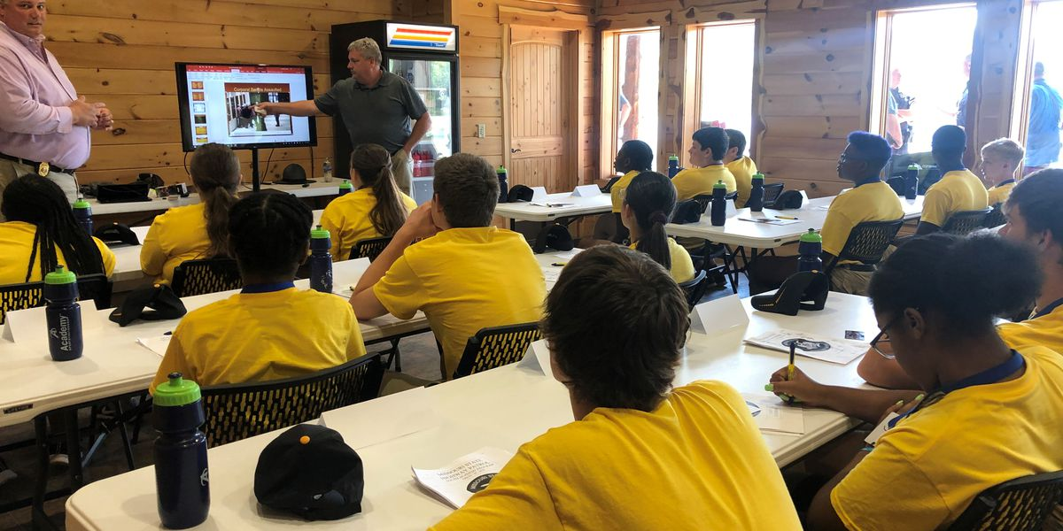 Students participate in Missouri State Highway Patrol's camp