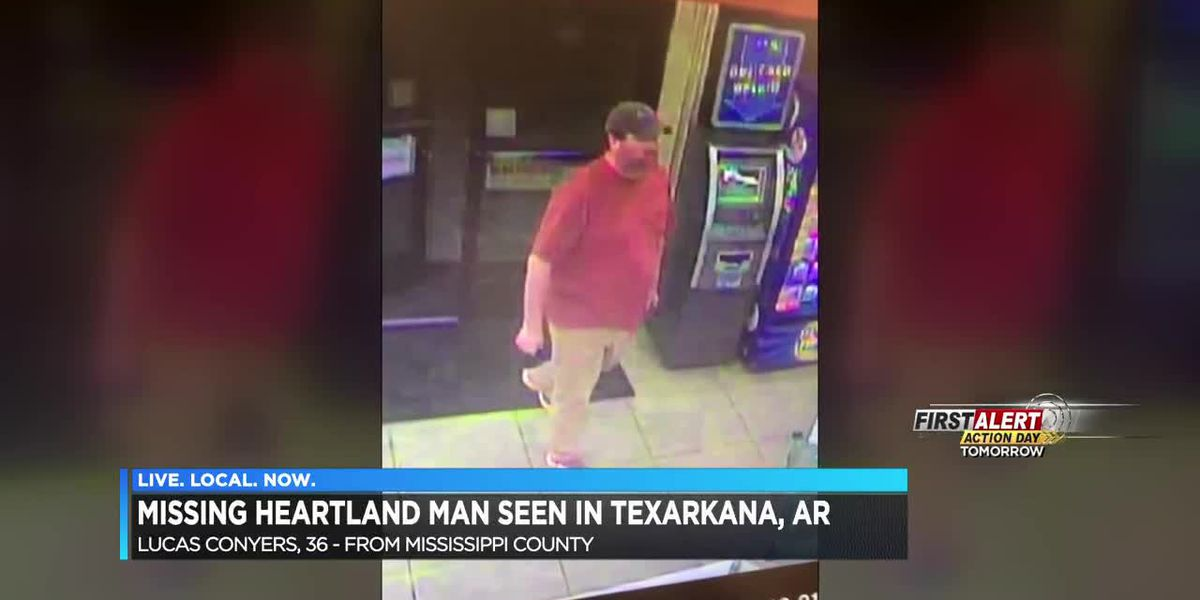 Missing MO man seen in Arkansas