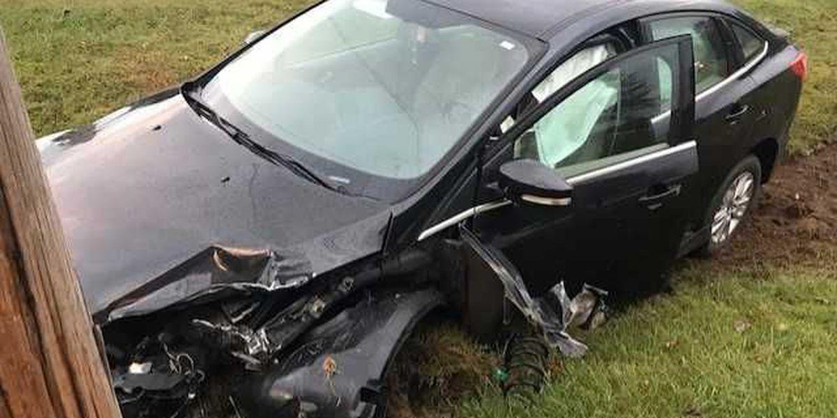 2-vehicle crash in McCracken County, KY injures one