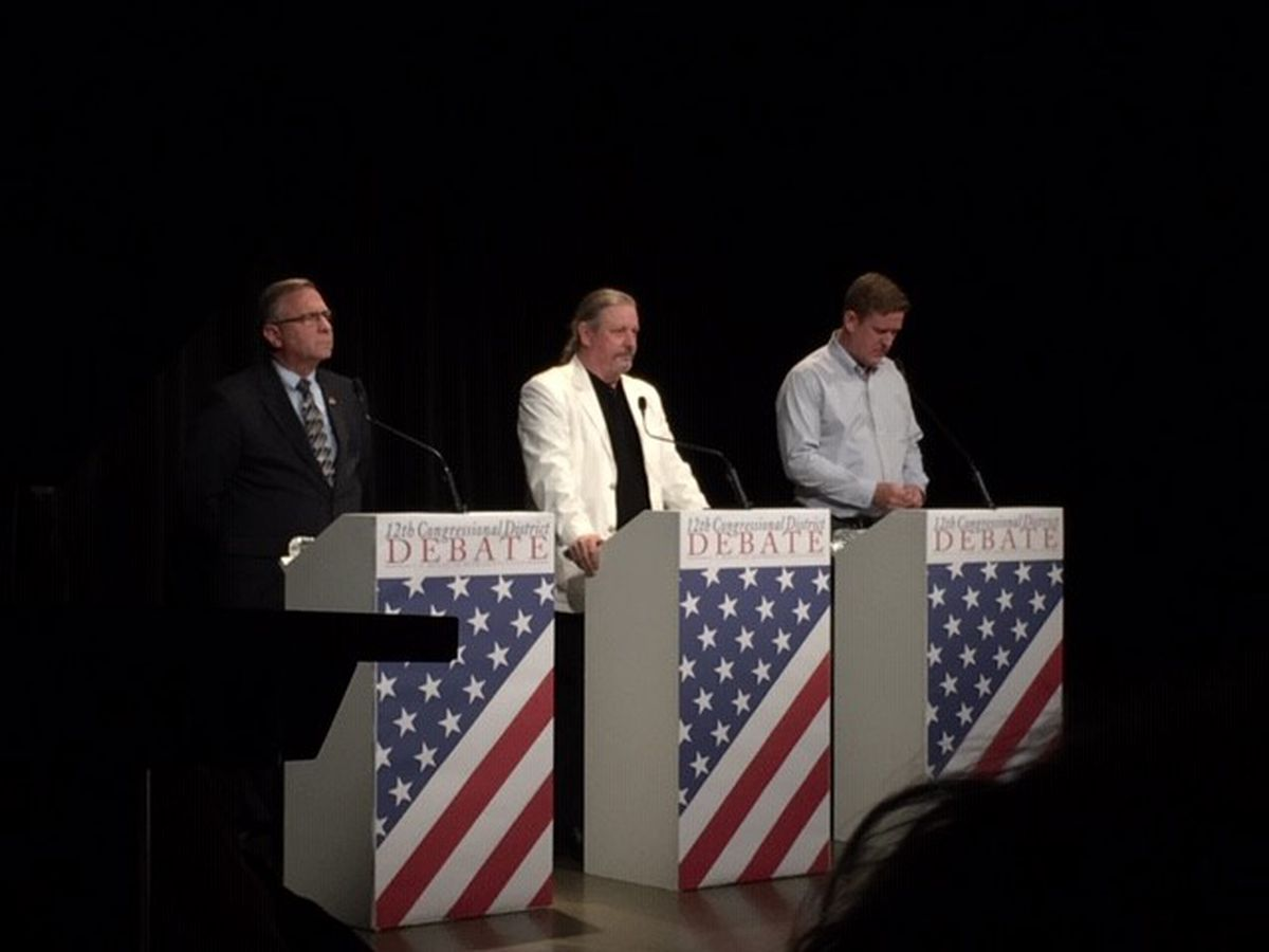 Congressional candidate debate at SIU on Oct. 23