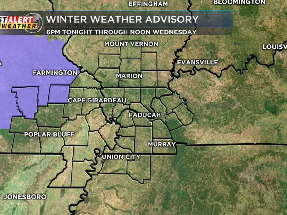 First Alert: Rain changing to snow tonight for northern parts of Heartland