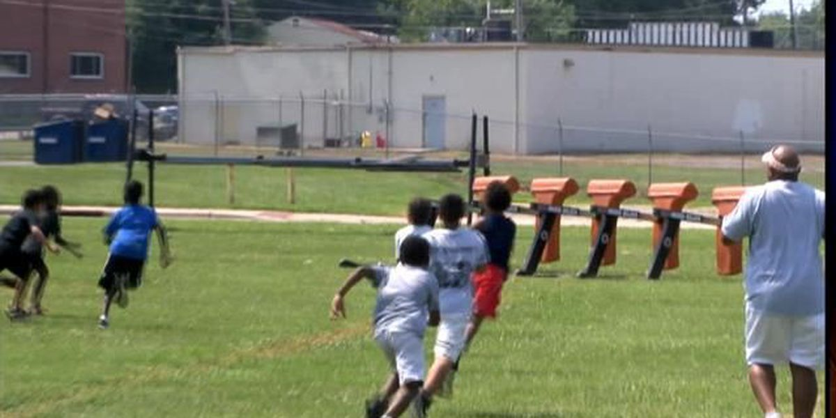 Mean Machine youth football camp wraps