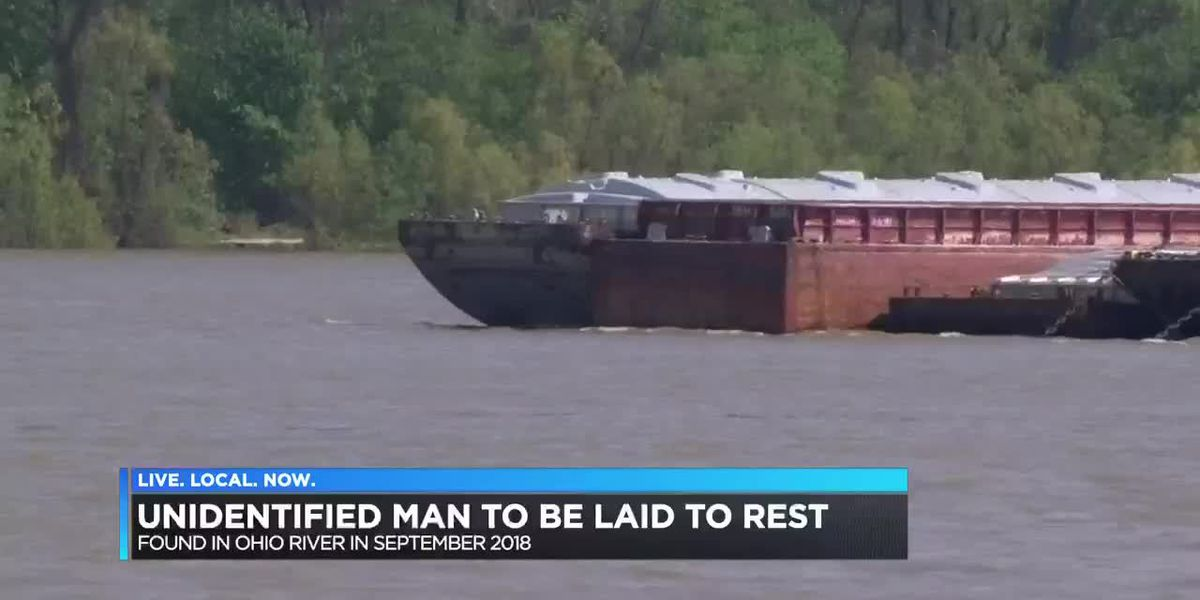 Unidentified man found in river to be laid to rest