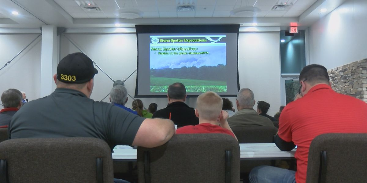 New storm spotters certified month after EF-2 tornado hits Jackson, Mo.