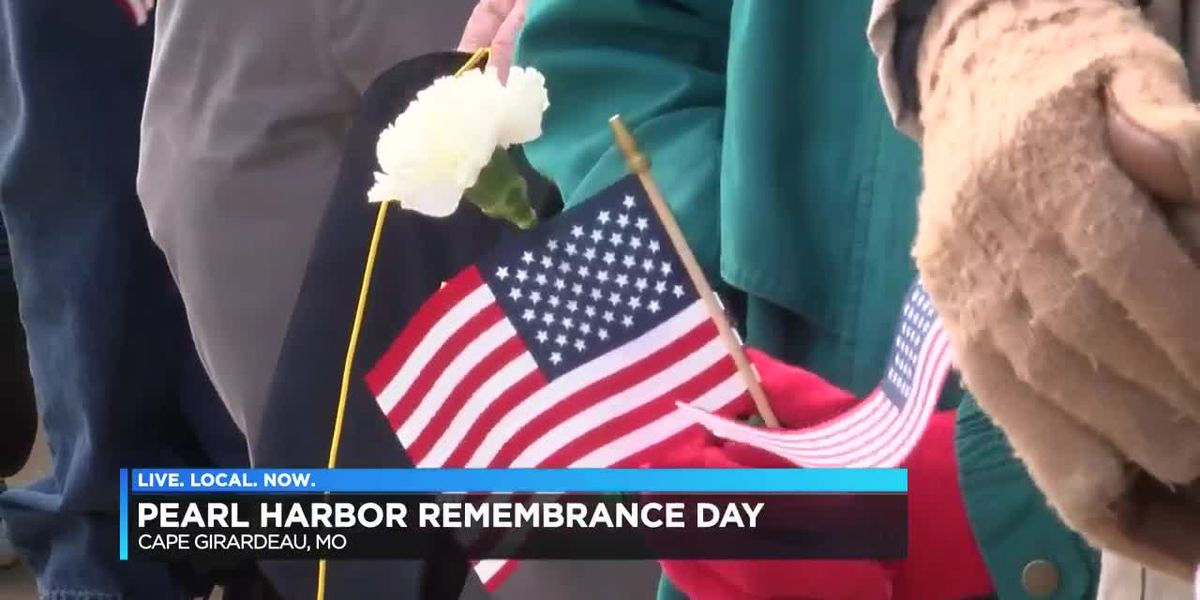The Cape Girardeau American Legion remembers Pearl Harbor