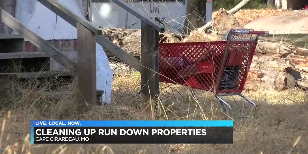 Condemning houses in Cape Girardeau