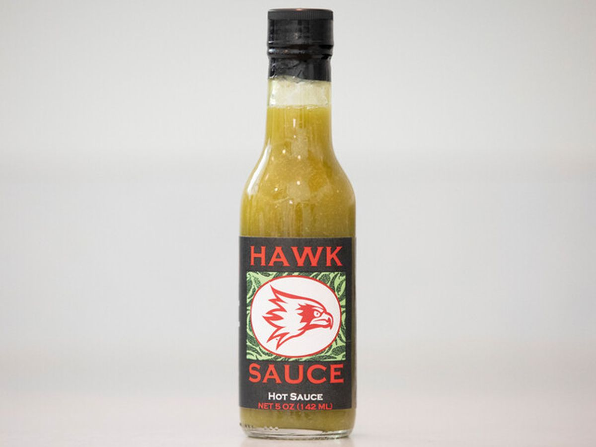 "New ""Go Green for Spring"" flavor of Southeast students' ""Hawk Sauce"" available"