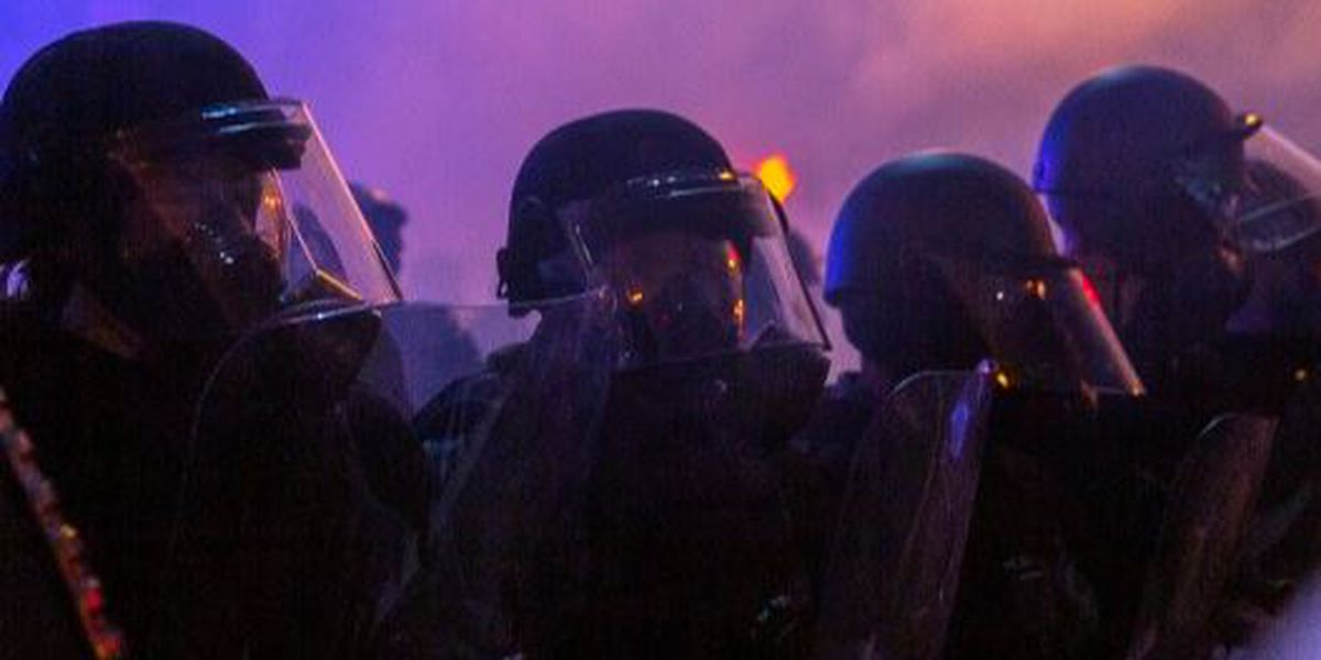 LMPD officers were ordered to remove riot gear following Saturday's deadly protest shooting