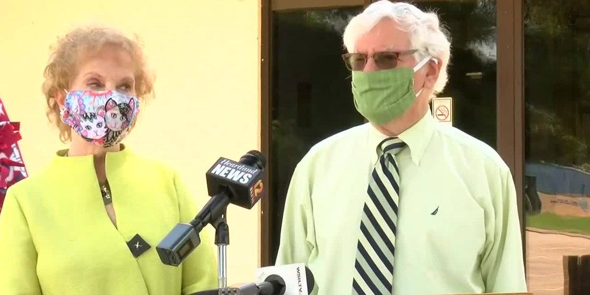 RAW VIDEO: Poshard Foundation granted $100K for southern Ill. families