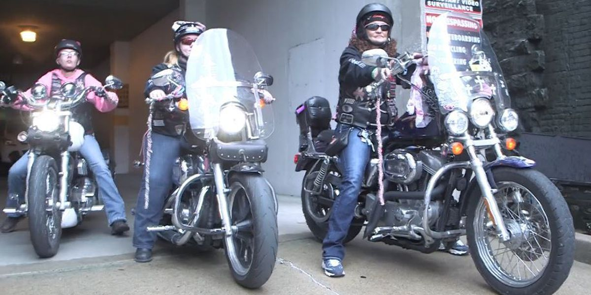 PINK UP: Motorcycle riding group, Cape Girardeau art gallery combine efforts to paint for a cause
