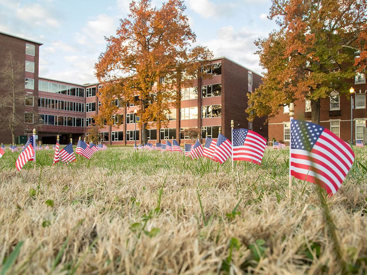 Murray State University Commemorated Veterans Day