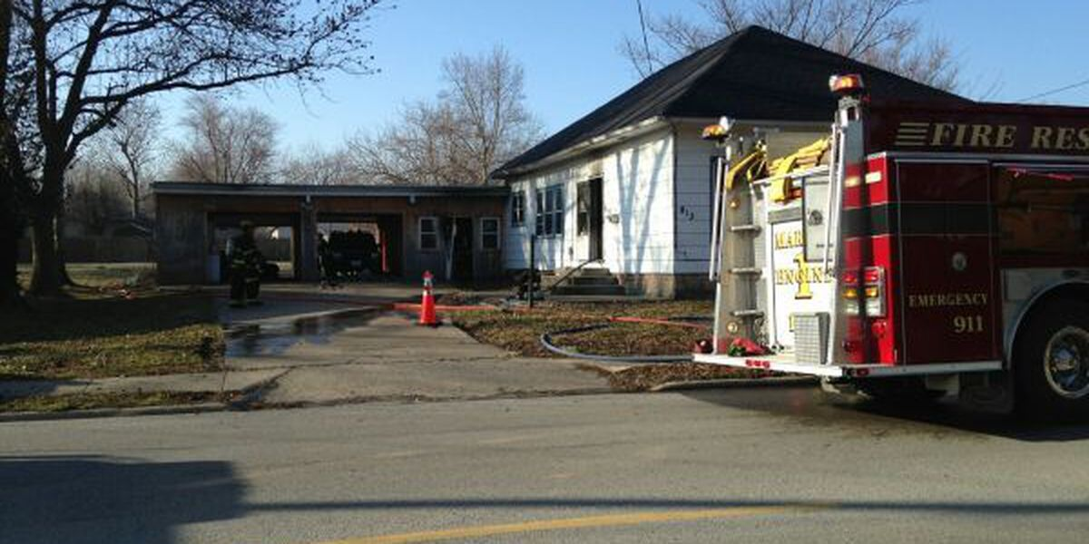 Crews on scene of house fire in Marion