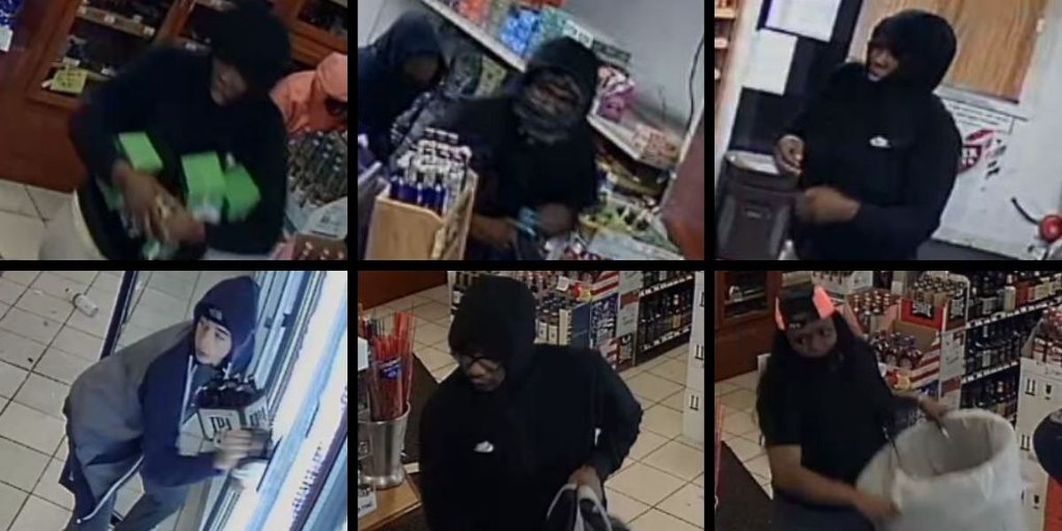 Carbondale police release surveillance images of suspects in liquor store burglary