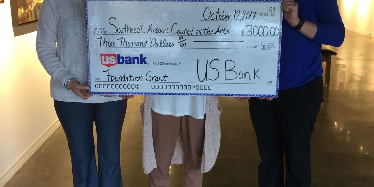 Arts Council of Southeast MO receives $3K grant