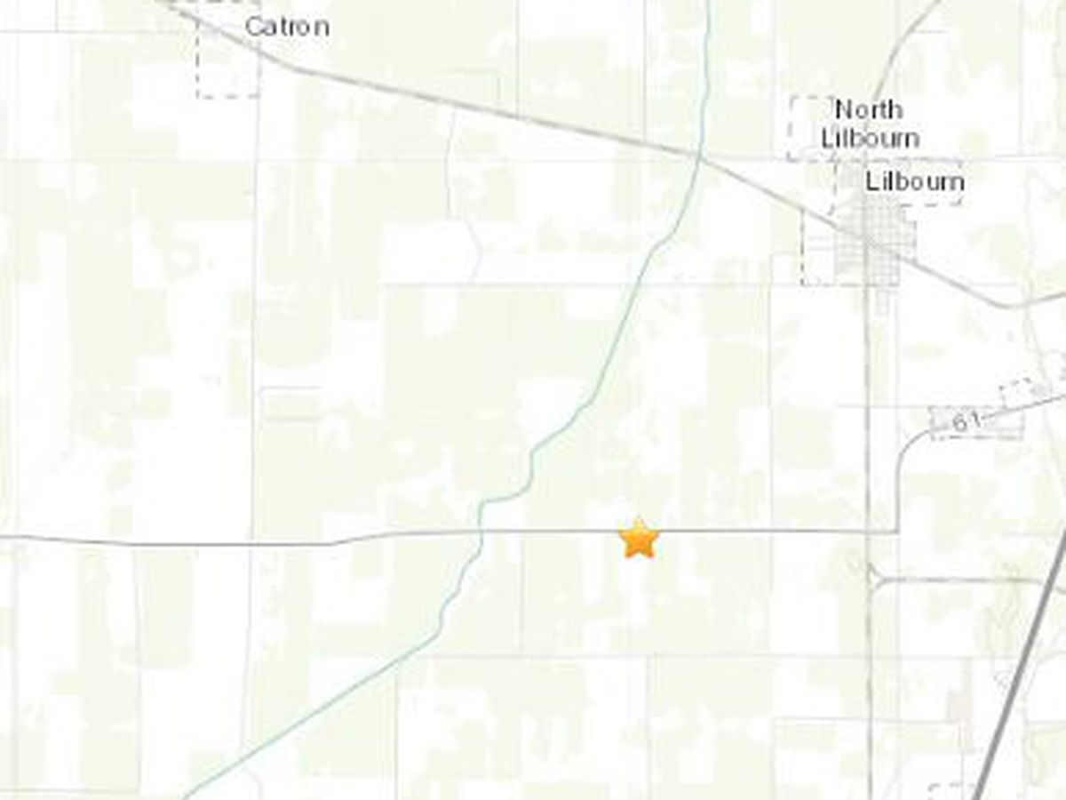 1.6 magnitude quake measured in southeast MO