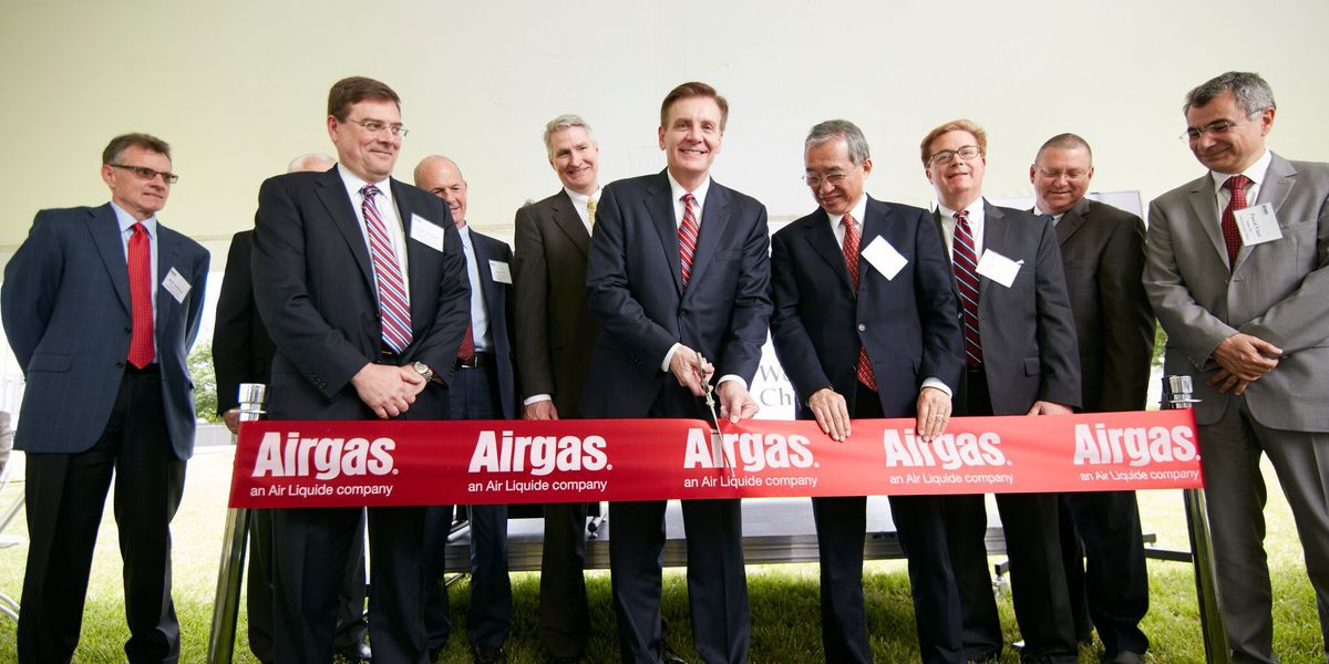 Airgas Air Separation Unit grand opening in Calvert City, KY