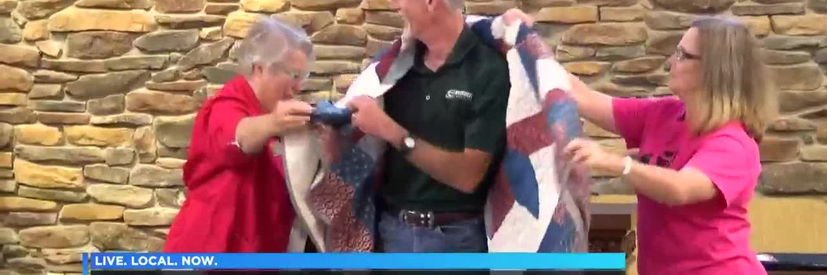 Quilts of Valor to veterans