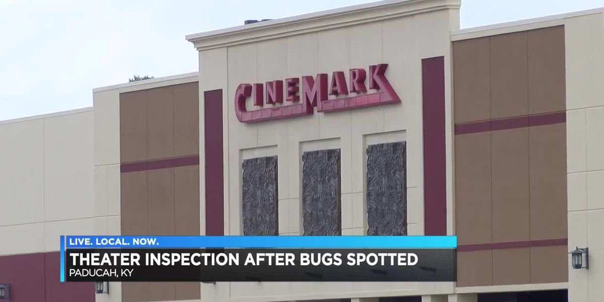 Roaches found at Kentucky Oak Mall theater