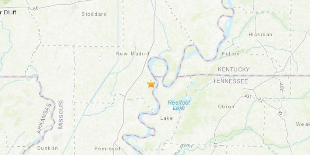2.4M quake shakes in southeast MO