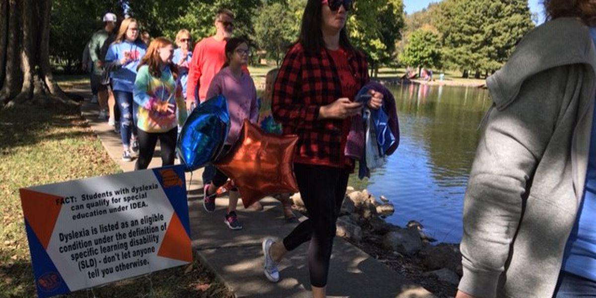 Dozens raise awareness for dyslexia in Cape Girardeau