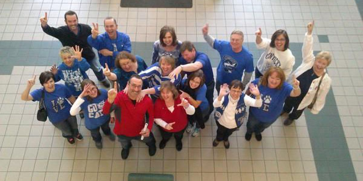 WKCTC shows support for battling Ky. basketball teams