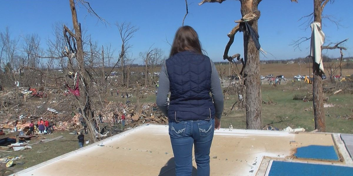 Family loses priceless memento in Perryville, MO tornado