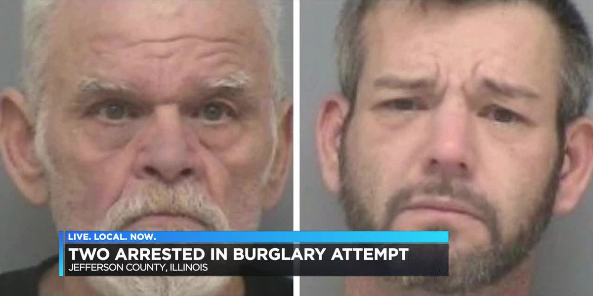 Two arrested in burglary attempt