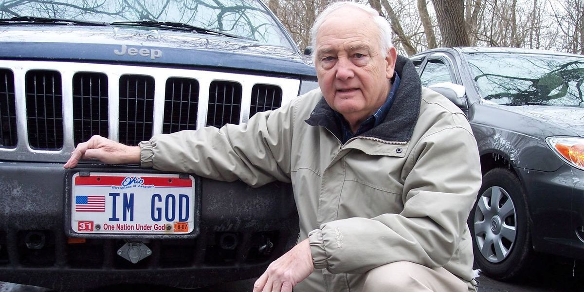 Kentucky man awarded $150,000 after being denied 'IM GOD' license plate
