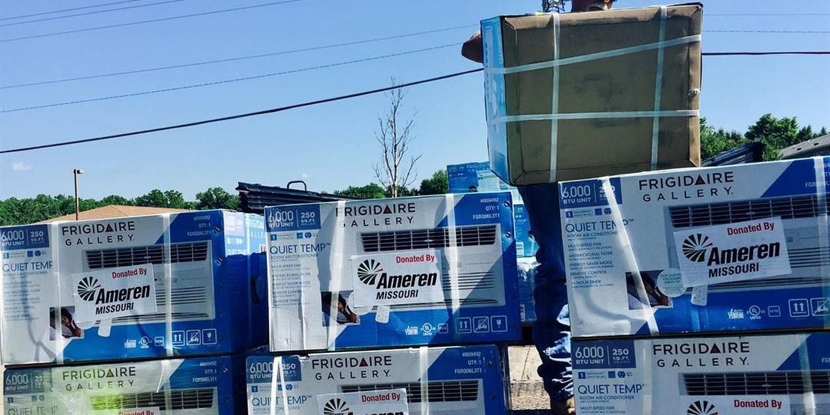 50 air conditioners donated in southeast MO