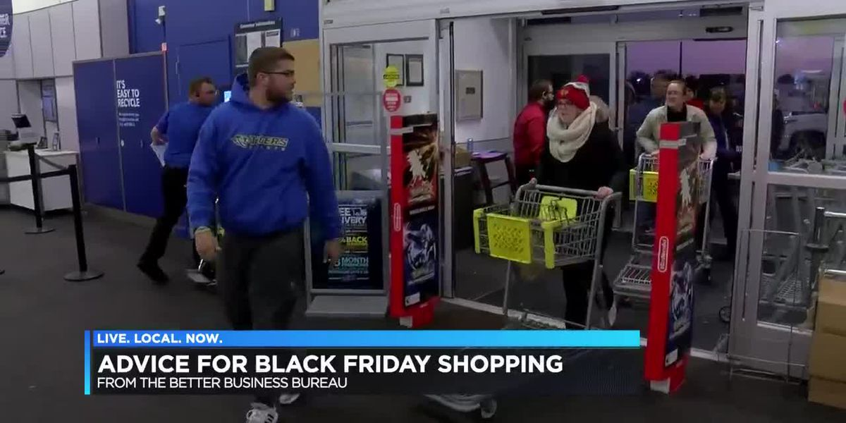 BBB advice for Black Friday Shopping