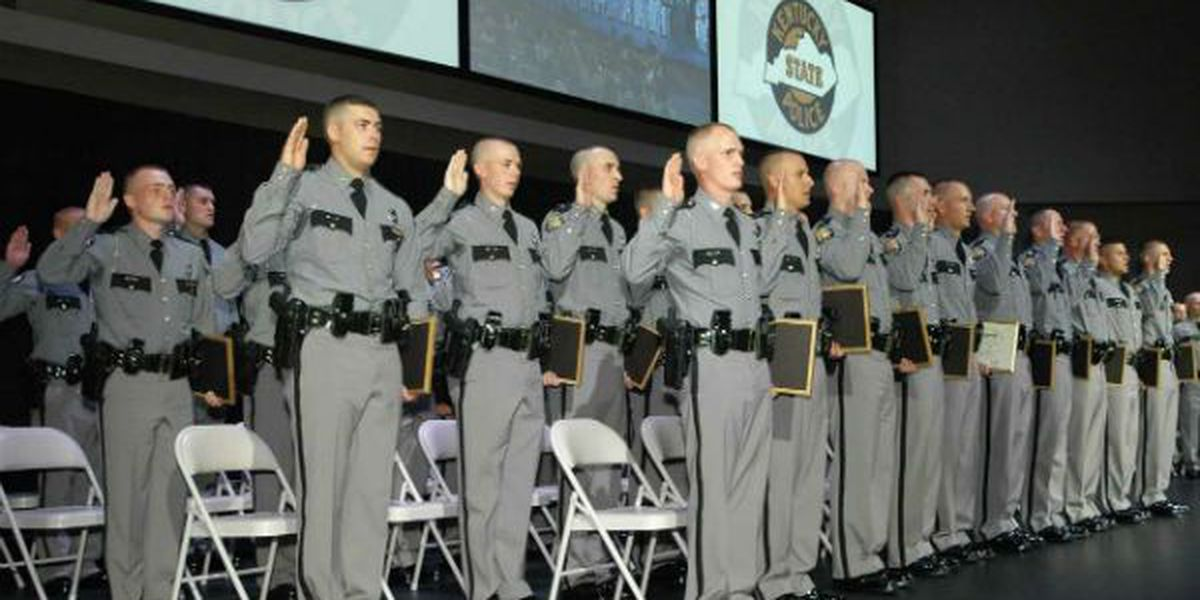 Kentucky State Police Academy graduates forty two new troopers