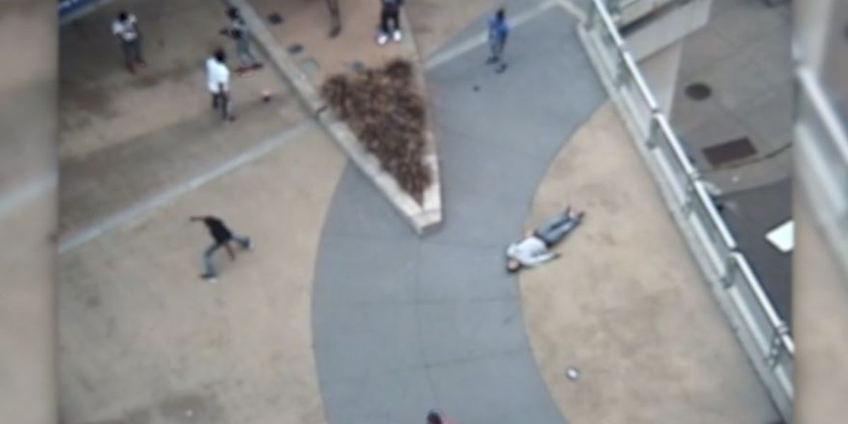 Violent Minneapolis ambush caught on camera