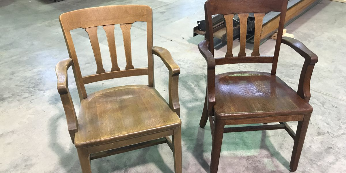 Student brings furniture back to life at campus library
