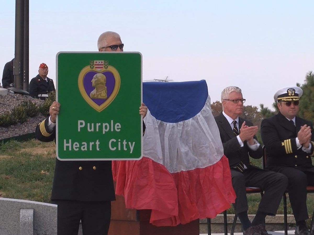 Veteran reacts to Cape Girardeau, MO becoming a Purple Heart City
