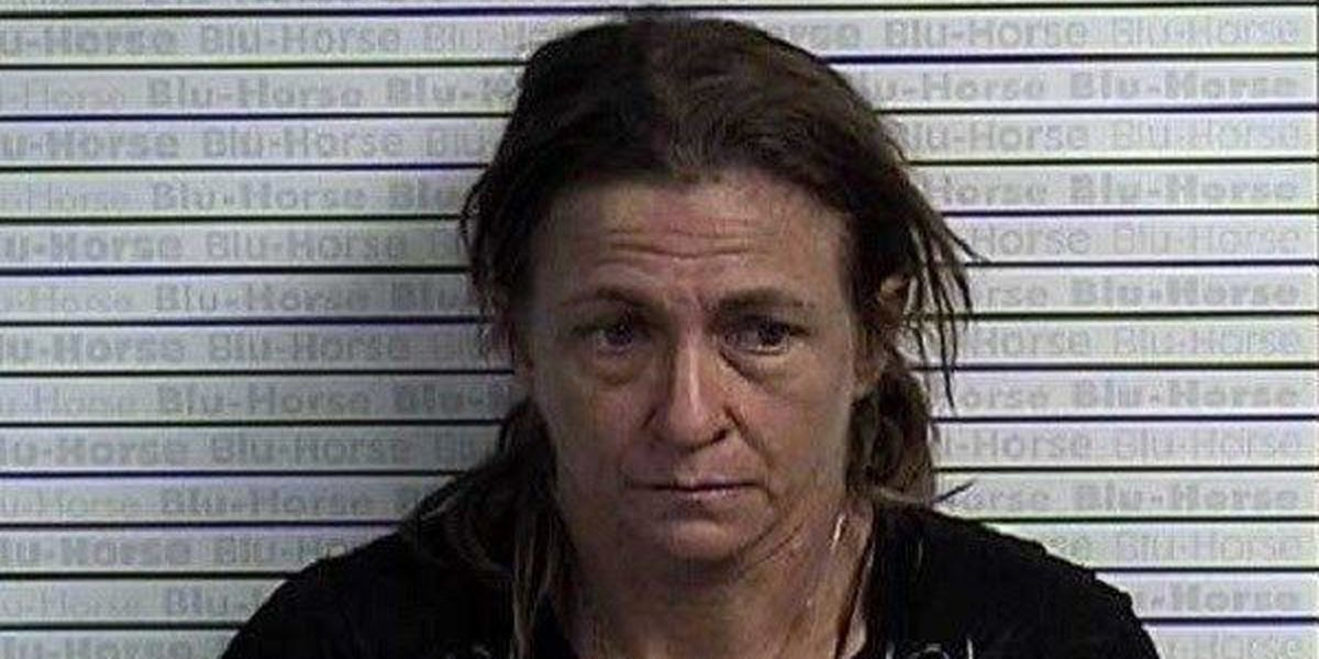 Graves Co., KY woman arrested following a burglary investigation