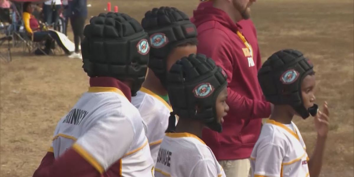 Helmets in play when it comes to flag football safety