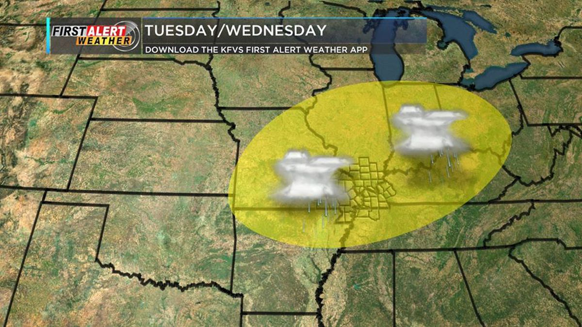 First Alert: Warm afternoon, isolated storm chances tonight