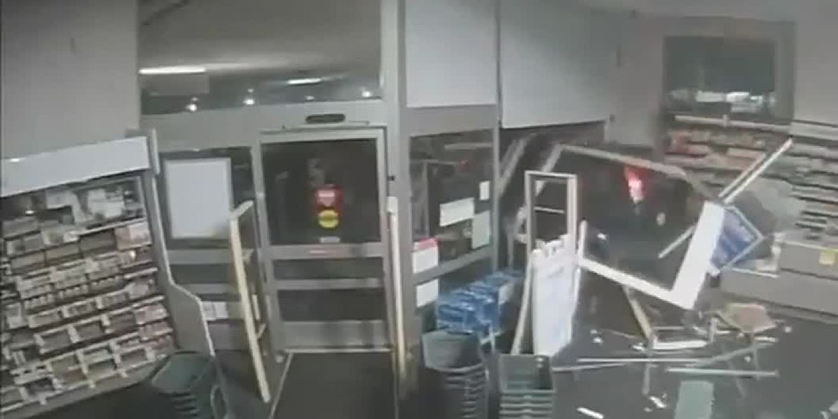 ATM thieves use stolen vehicle to smash into Walgreens
