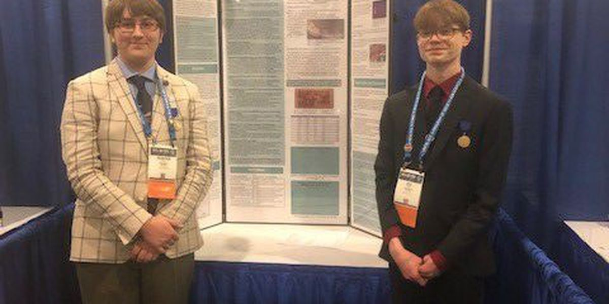 Jackson students go to International Science Fair, eager to learn more