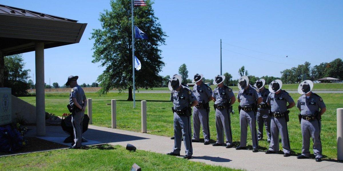 Gordonville FD and KSP observe National Police Officer Memorial Day