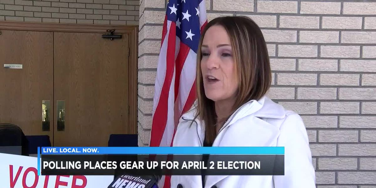 Polling places gear up for April 2 election