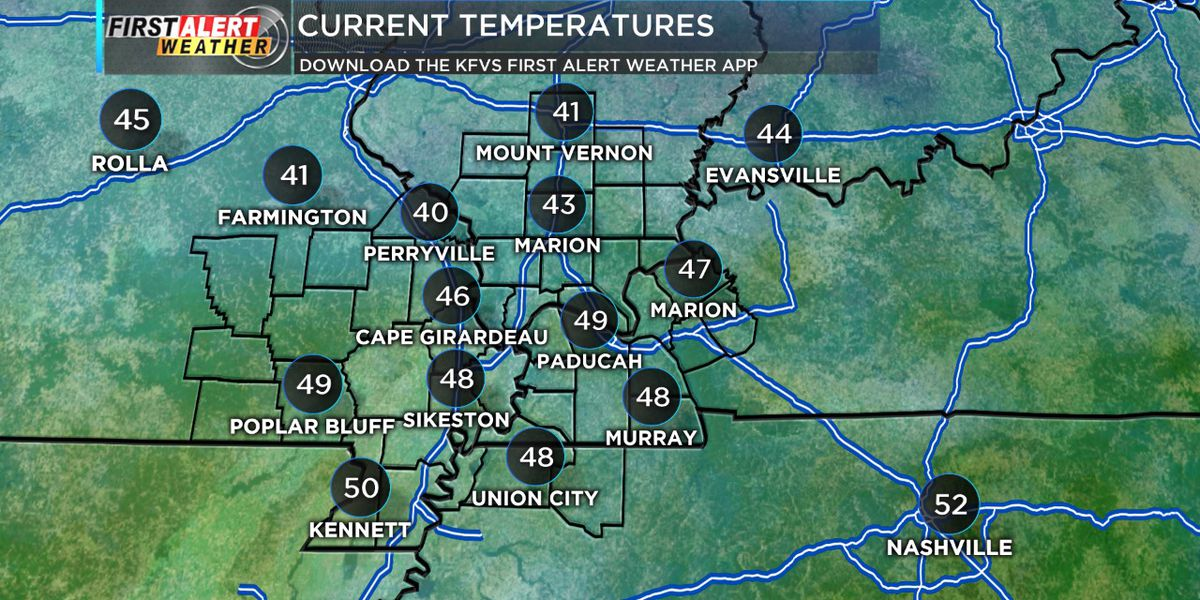 First Alert: Temperatures to cool down this evening