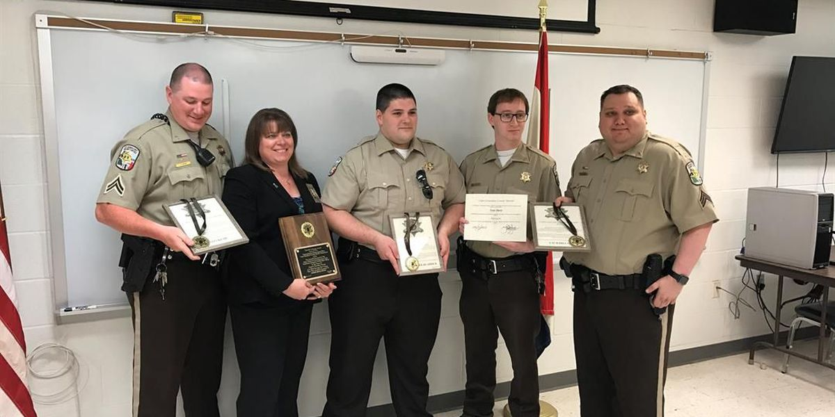 Cape Girardeau County Sheriff's Office employees receive annual awards