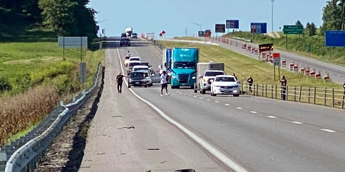 Man facing felony charges after incident on I-55 near the 98 mile marker