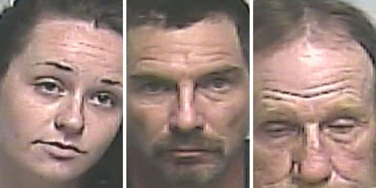 3 arrested on drug offenses after running from deputies